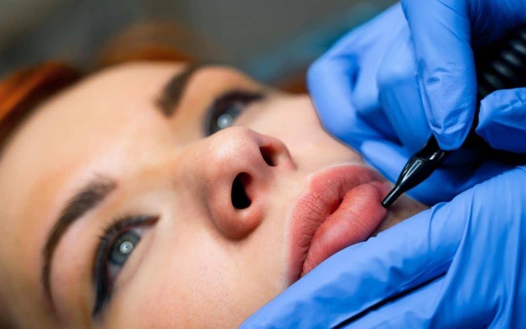 efectos micropigmentación facial labios